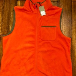Good fellow Orange Fleece Vest